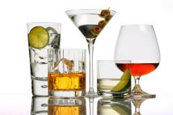 Алкогольные напитки - причина гипертонического криза