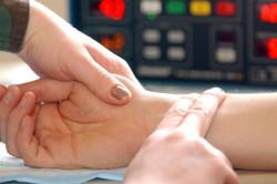 Определение частоты пульса при аортальной недостаточности
