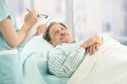 Укладывание больного при сердечной одышке