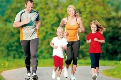 Здоровый образ жизни всей семьи