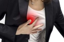 Жжение в сердце - симптом стенокардии