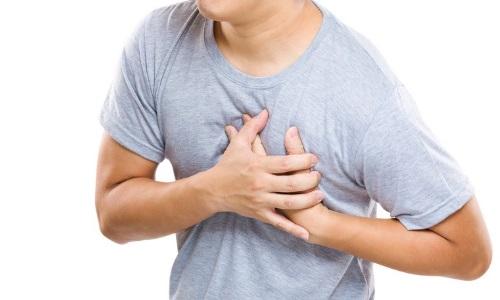 Боль в груди при желудочковой тахикардии