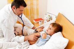 Осмотр ребенка кардиологом