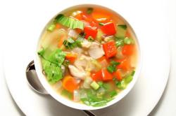 Суп из овощей после инфаркта