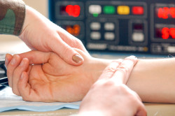 Измерение пульса при брадикардии