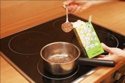 Приготовление отвара от тахикардии из семян льна