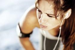 Сильная одышка - симптом инфаркта