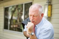 Одышка при безболевой ишемии миокарда
