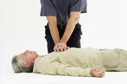 Непрямой массаж сердца при его остановке