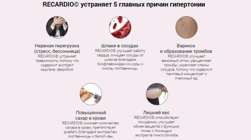 Re Cardio (Рекардио) от гипертонии